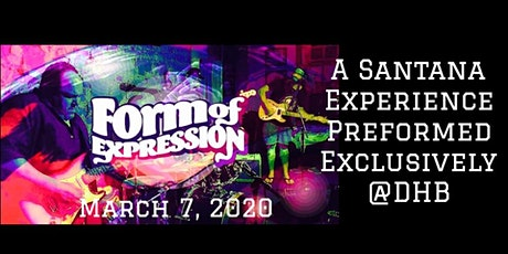 Form Of Expression Performs Santana tickets