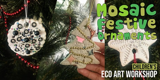 Mosaic Festive Ornaments: Children's Eco-Art Workshop