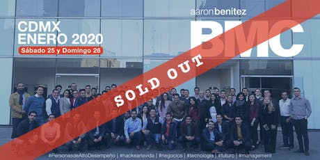 Aaron Benitez Business Master Class [ BMC ] Enero 2020 boletos