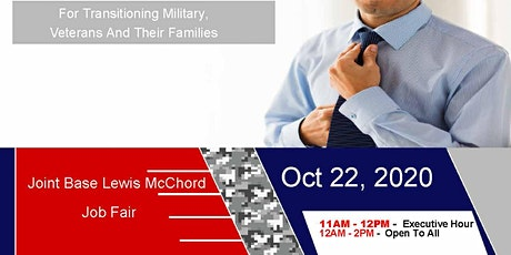 Joint Base Lewis McChord Job Fair - Oct 2020 tickets