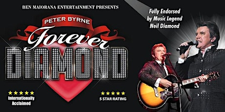 Forever Diamond Show by Peter Byrne tickets