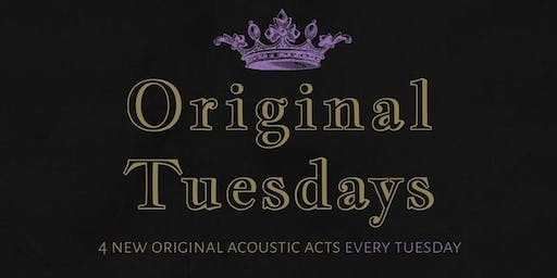 Tues Dec 10th Original Tuesdays at The Scottish Prince!