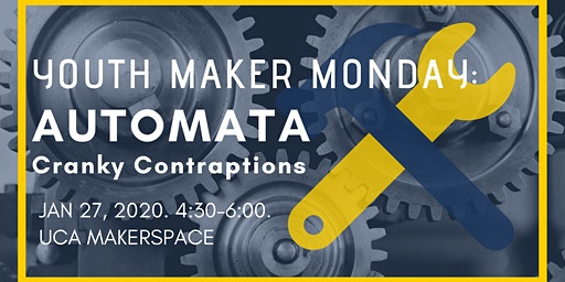 Youth Maker Monday: Automata - Cranky Contraptions