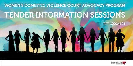 Women's Domestic Violence Court Advocacy Program Tender - Wagga Wagga tickets