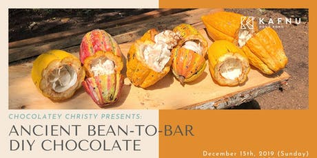 Chocolatey Christy: Ancient Bean to Bar DIY Chocolate Workshop tickets