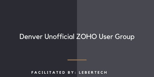Denver Unofficial Zoho User Group