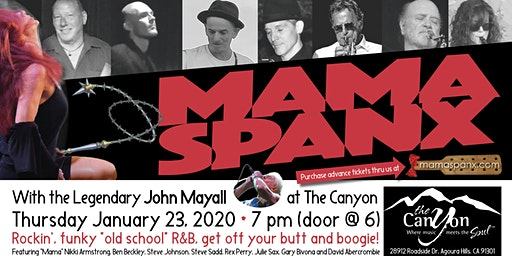 Mama Spanx with John Mayall!