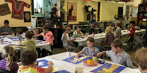"CREATIVE KIDS  ""After School Art Program""- APRIL,  for ages 5-11"