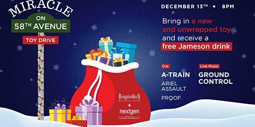 Bougie's Miracle On 58th Ave Toy Drive