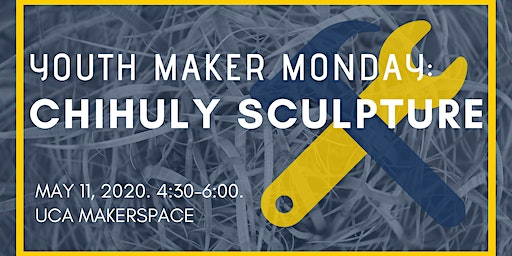Youth Maker Monday: Chihuly Sculpture Art