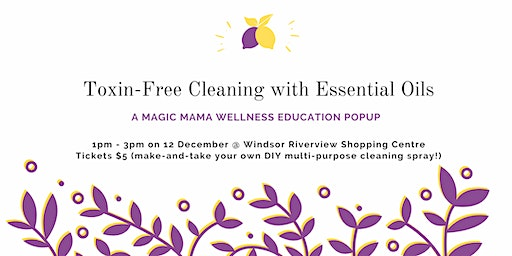 Toxin-Free Cleaning with Essential Oils