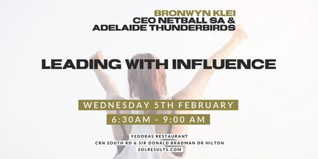 Breakfast at the Next Level | Bronwyn Klei | Leading With Influence  tickets