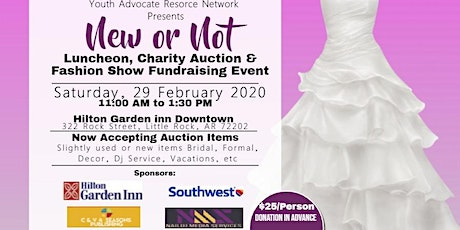 NEW OR NOT: Luncheon, Auction and Fashion Show tickets
