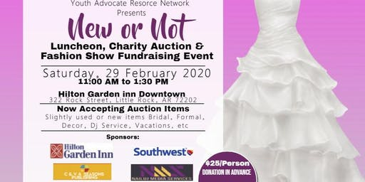 NEW OR NOT: Luncheon, Auction and Fashion Show