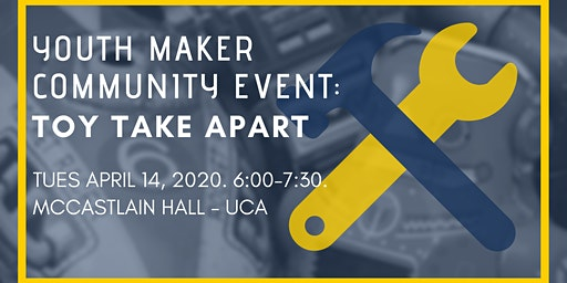 Youth Maker Community Event: Toy Take Apart