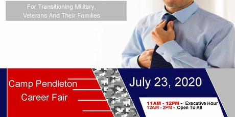 Camp Pendleton Job Fair - July 2020 tickets
