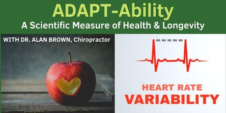 ADAPT-Ability - A Scientific Measure  of Health & Longevity tickets