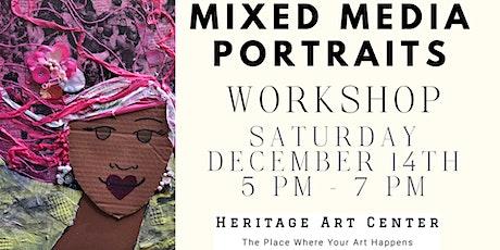 Mixed Media Portraits tickets