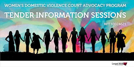 Women's Domestic Violence Court Advocacy Program Tender - Parramatta tickets
