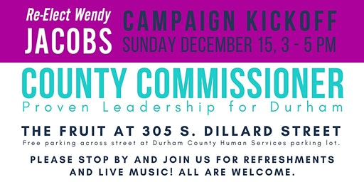 Wendy Jacobs Campaign Kickoff