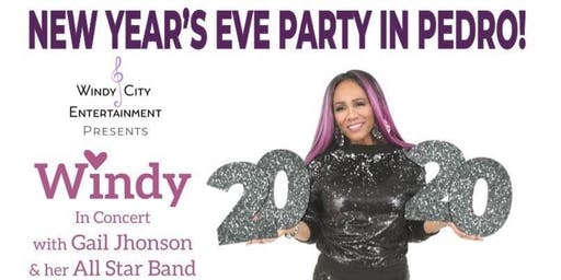 Windy Barnes NEW YEARS Eve at Jannys Showroom (Peoples Place)