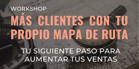 """Workshop """"Tu Siguiente Paso para Aumentar tus Ventas"""" entradas"""