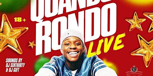 FRI DEC 27TH| JINGLE JAM  FT QUANDO RONDO LIVE @ TEXAS DISCO 5201 W MARKET