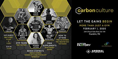 Carbon Culture Launch Event tickets