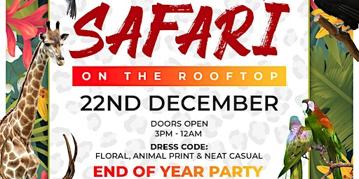 Safari On The Rooftop | End Of Year Party
