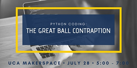 Python Coding: The Great Ball Contraption tickets