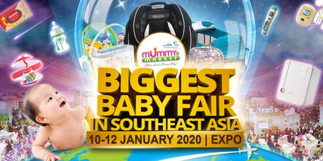 Baby Fair 2020 – Mummys Market - 10 To 12 Jan 2020 at Singapore Expo tickets