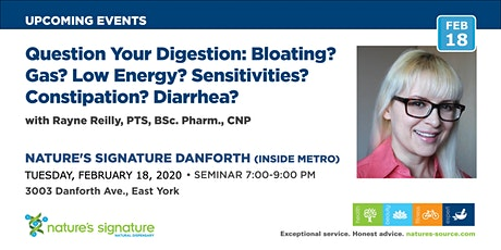 Question Your Digestion:  Gas/Bloating? Fatigue? Sensitivities? Gut issues? tickets