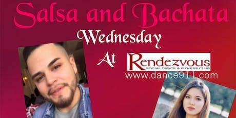 Salsa and Bachata Wednesday tickets