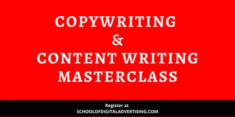 Copywriting & Content Writing Masterclass – First In Malaysia tickets