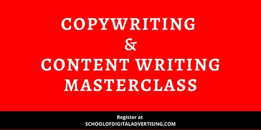 Copywriting & Content Writing Masterclass – First In Malaysia