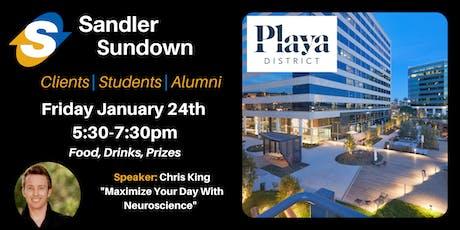Sandler Sundown Networking Event tickets