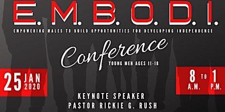 E.M.B.O.D.I  Conference tickets