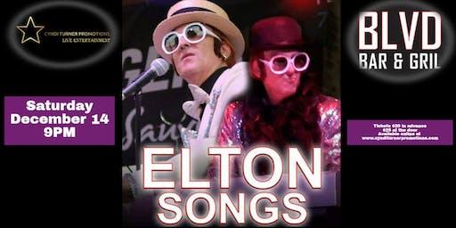 ELTON SONGS Tribute to Elton John live at THE BLVD