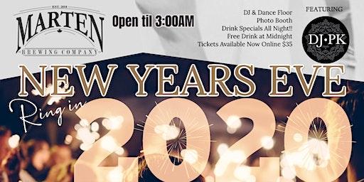 NYE 2020 @ Marten Brew Pub