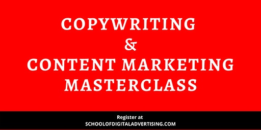 Copywriting & Content Marketing Masterclass – First In Malaysia