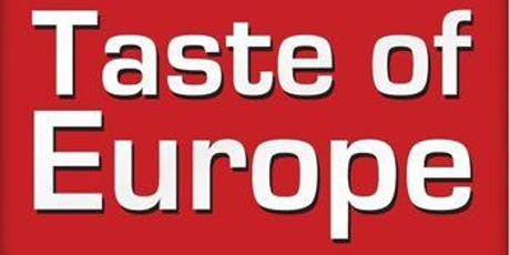 Tour of Europe food and beer pairing tickets