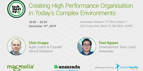 Creating High Performance Organisation in Today's Complex Environment tickets