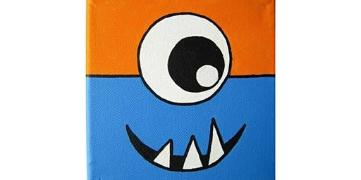 Kids Monster Painting