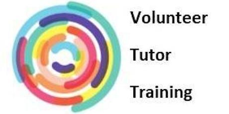 Croydon Volunteer Tutor Training - 2 x Evenings tickets