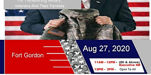 Fort Gordon Transition Expo (Hiring Event and Business Expo)