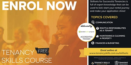 Kallangur - Tenancy Skills Course tickets