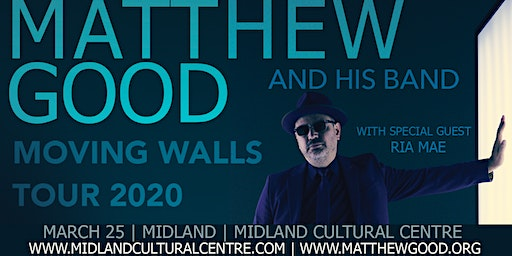 Matthew Good - Moving Walls Tour 2020