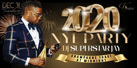 NYE at Vanity Lounge with DJ Superstar Jay tickets