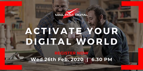 2020 Digital Workshop - Activate Your Digital World tickets