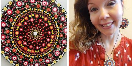 Mandalas and Mindfulness - Painting Mandalas Big or Small  tickets
